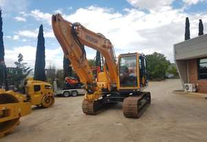 2013 HYUNDAI R140LC-9A EXCAVATOR WITH LOW 215 HOURS