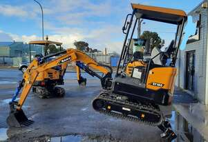 $19 per/day. Mini excavator SANY SY16C 1.8t with 3 buckets. S.A Dealer huge warranty.