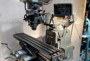 Pacific FTV-2S Milling machine with 3 axis DRO