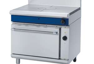 Blue Seal Evolution Series GE576 - 900mm Gas Target Top Electric Convection Oven Range