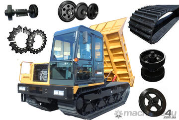 RUBBER TRACKED CARRIER/DUMPER UNDERCARRIAGE PARTS