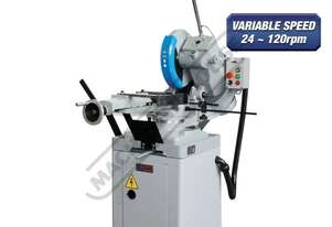 CS-350V Cold Saw, Includes Stand 160 x 90mm Rectangle Capacity Ø350mm Blade, Variable Blade Speed 2