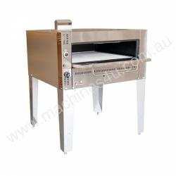 Goldstein G236/2 - 2 Deck Gas Pizza Oven on stand
