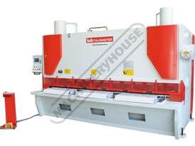 HG-3220VR Variable Rake Hydraulic NC Guillotine 3200 x 20mm Mild Steel Shearing Capacity 1-Axis Ezy- - picture2' - Click to enlarge