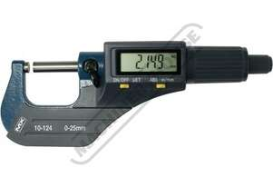 10-124 Digital Outside Micrometer 0-25mm/0-1