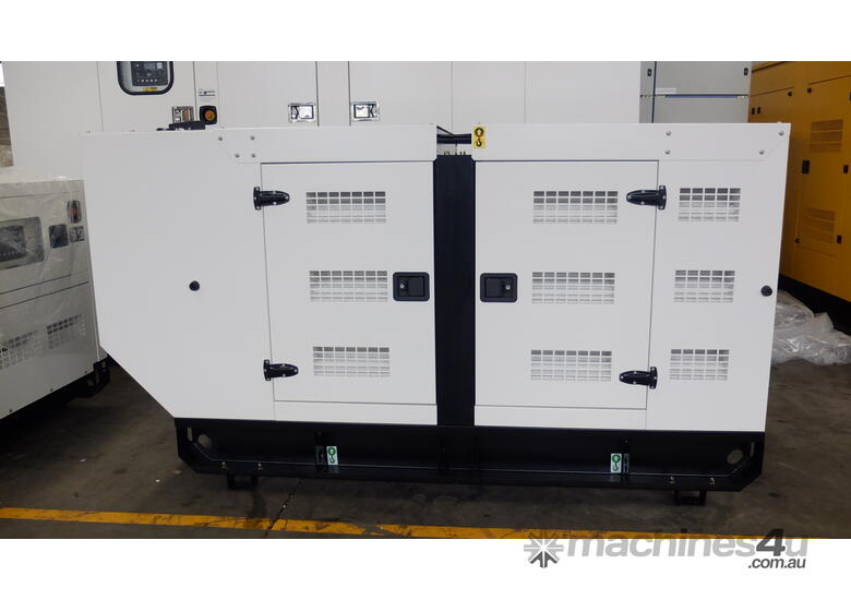 110KVA  Powered by a Cummins � engine