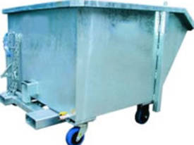 Tip Up Waste Bin 1.50m2 - picture0' - Click to enlarge