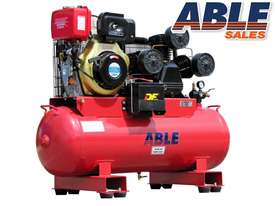 Diesel Air Compressor 11HP 160 Litre 42CFM 145PSI - picture0' - Click to enlarge