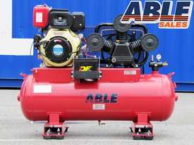 Diesel Air Compressor 11HP 160 Litre 42CFM 145PSI - picture1' - Click to enlarge