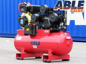 Diesel Air Compressor 11HP 160 Litre 42CFM 145PSI - picture2' - Click to enlarge