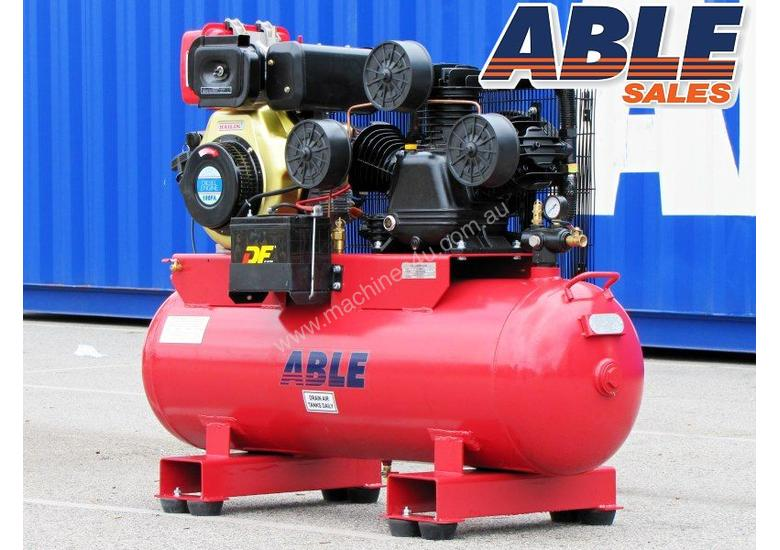 Diesel Air Compressor 11HP 160 Litre 42CFM 145PSI