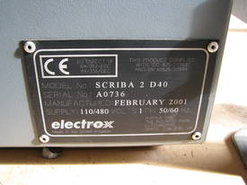Laser Marking Marker System - Electrox Scriba 2 - picture10' - Click to enlarge