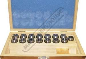 C860 ER25 Collet Set - 15 Piece Collet Range Ø1 - Ø16mm