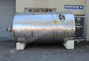 Stainless Steel Mixing Tank - Capacity 8,000 Lt.