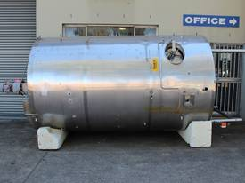Stainless Steel Mixing Tank - Capacity 8,000 Lt. - picture0' - Click to enlarge