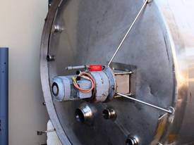 Stainless Steel Mixing Tank - Capacity 8,000 Lt. - picture1' - Click to enlarge