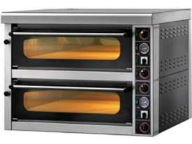 GAM MS4 High Performance Mechhanical Double Stone Deck Oven - picture1' - Click to enlarge