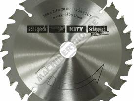 Saw Blade - 160mm x 24T 24 Teeth Suits cs 55 Plung