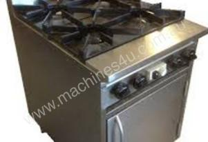 CE4BT-OV600 4 Burner stove + Oven under