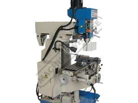HM-54GV Turret Milling Machine Inverter Variable Speed & Geared Head - Horizontal & Vertical (X) 600 - picture1' - Click to enlarge