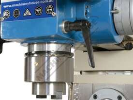 HM-54GV Turret Milling Machine Inverter Variable Speed & Geared Head - Horizontal & Vertical (X) 600 - picture6' - Click to enlarge