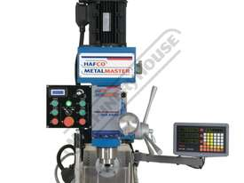 HM-54GV Turret Milling Machine Inverter Variable Speed, Geared Head - Horizontal & Vertical (X) 600m - picture3' - Click to enlarge