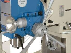 HM-54GV Turret Milling Machine Inverter Variable Speed, Geared Head - Horizontal & Vertical (X) 600m - picture13' - Click to enlarge