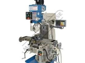 HM-54GV Turret Milling Machine Inverter Variable Speed, Geared Head - Horizontal & Vertical (X) 600m - picture0' - Click to enlarge