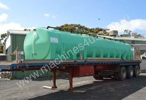 AllQuip PolyTrans tanker water cart