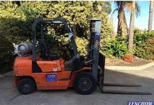 Ep Equipment Used 2.5T EP Gas Forklift