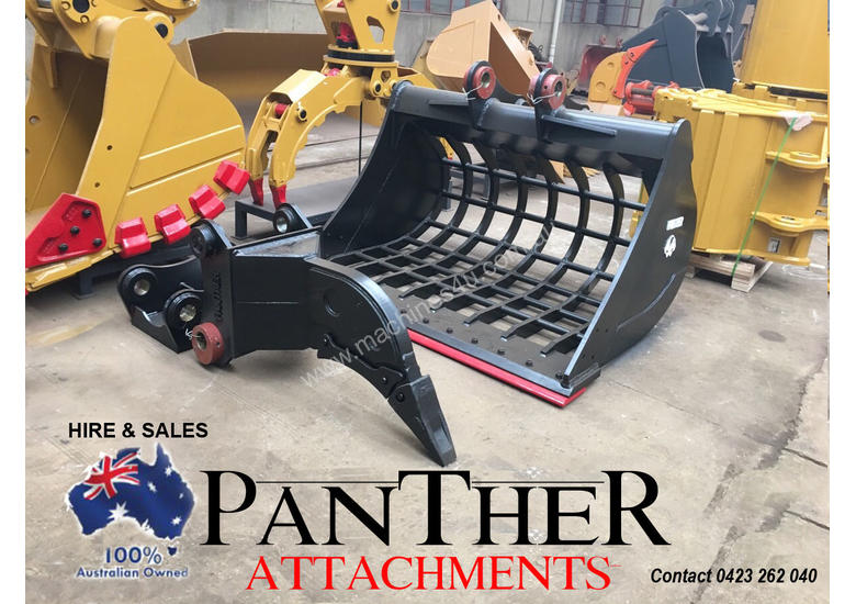 20 - 30 Ton HD Excavator Ripper PANTHER