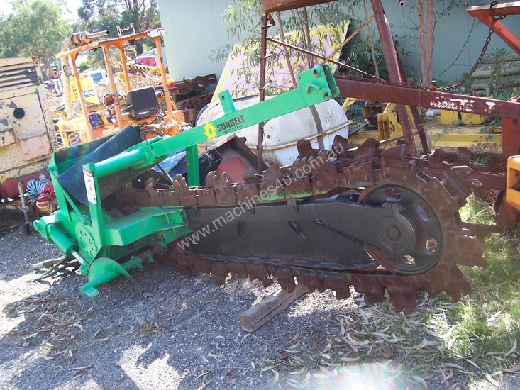 tr120 trencher attachment