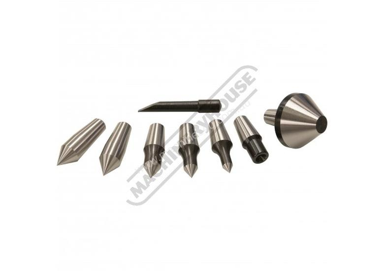 C0635 3MT Live Centre Set - Interchangeable Centring Tips  Taiwanese Precision Quality