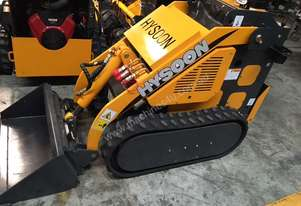 Tracked 800mm wide mini digger mini loader 23HP B&S double pump