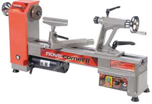 Teknatool Nova Comet II Electronic Variable Speed Midi Lathe