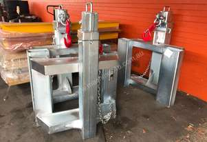 Forklift Jib Fixed Short Zinc Plated Extents to 2m 10 Ton Syd