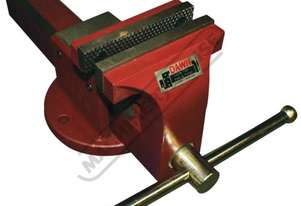 60420 Utility Vice with Anvil & Pipe Jaws - Forge Steel 100mm
