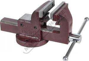 60420 Forge Steel Utility Bench Vice with Anvil & Pipe Jaws 100mm Jaw Width 100mm Jaw Opening