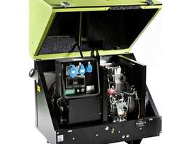 Pramac 6kVA AVR Silenced Auto Start Diesel Generator + 2 Wire Controller - picture17' - Click to enlarge