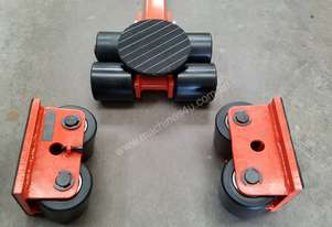 6 ton machine mover dolly roller skate set