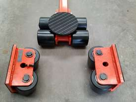 6 ton machine mover dolly roller skate set  - picture0' - Click to enlarge