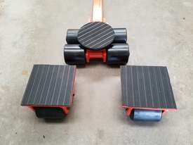 6 ton machine mover dolly roller skate set  - picture1' - Click to enlarge