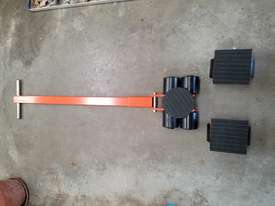 6 ton machine mover dolly roller skate set  - picture2' - Click to enlarge