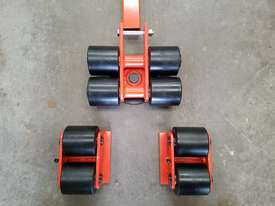 6 ton machine mover dolly roller skate set  - picture4' - Click to enlarge