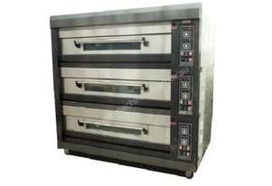 Amalfi Electric Three Deck Bakery Oven