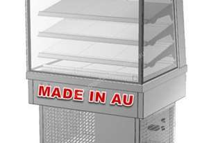 Culinaire CR.FD.T2.0900 Refrigerated Food Display - Square Glass 900mm