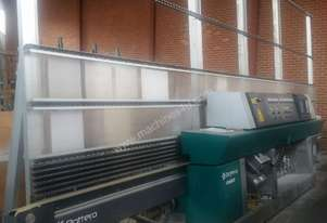 Glass straight line edger