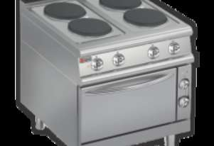 Baron 7PCF/E800 Four Burner Electric Cook Top with Electric Oven