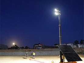 SOLAR LIGHTING TOWER - picture1' - Click to enlarge