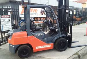 Toyota Forklift 8FG30 3 Ton 4.5m Lift Low Hrs EOFY Sale $16999+ GST *Negotiable*